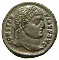 Constantine I AE3 Centenionalis (329-330 AD), Campgate, Cyzicus mint, not in RIC
