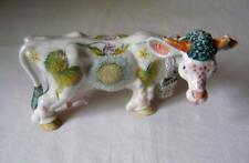Basil Matthews Pottery Cow Figurine: Lazy Daisy: signed, Ear & Horn a/f