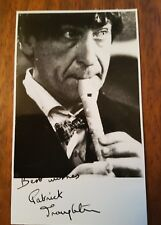 Doctor Who Patrick Troughton Signed Postcard