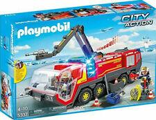 PLAYMOBIL CITY ACTION CAMION BOMBEROS AEROPUERTO 4-10 AÑOS 5337