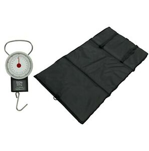 MDI Carp & Commercial Fishery Unhooking Mat with Elastic Straps & Dial Scales