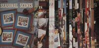 LEISURE ARTS Cross Stitch Patterns, Leaflets and Booklets ~YOU PICK~ #6