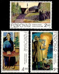 Faroe Islands 1995 Art, Paintings, Museum, Woman, Artist. MNH / UNM