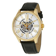 Invicta Vintage Objet D Art Automatic Silver Dial Mens Watch 22568