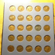 "Set  ""S""  Mint Lincoln Wheatback Cents(Pennies) 1919 - 1955"