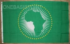 3x5 AFRICAN UNION FLAG BANNER AFRO CONTINENT BLACK POWER BANNER ALLIANCE 3'x5'