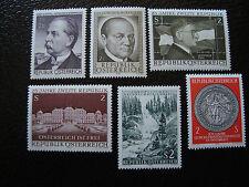 AUTRICHE - timbre - yvert et tellier n° 1150 a 1155 n** - stamp austria (A3)