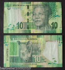 SOUTH AFRICA 10 RAND NELSON MANDELA # 565