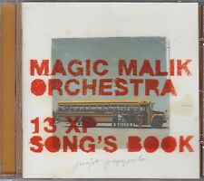 MAGIC MALIK ORCHESTRA - 13 xp song's book CD