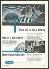 CARRIER Air Conditioning-Refrigeration - 1947 Vintage Print Ad