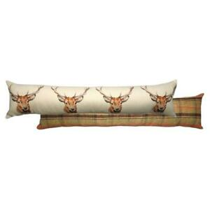 Evans Litchfied Hunter Stag  Draught Excluder Multicolour