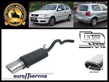 SILENCIEUX POT D'ECHAPPEMENT VW POLO 6N 1995-1997 1998 1999 2000 2001 TIP 145x75