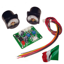 2pcs 10-12V VU-Meter 500UA Panel Warm Back Light Recording + Driver Module