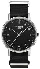 New Tissot Everytime Anthracite Dial Nylon Strap Men's Watch T1094101707700