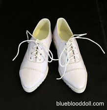 1/3 bjd SD17 boy doll white color formal shoes super dollfie luts ship US