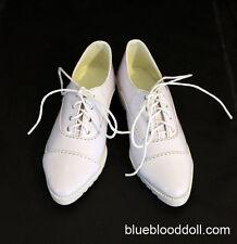 1/3 bjd SD17 boy doll white color formal shoes super dollfie luts ship US
