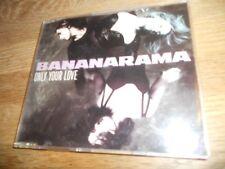BANANARAMA ONLY YOUR LOVE 4 TRACKS LONDON RECORDS 1990 GERMAN PRESSING SCARCE***