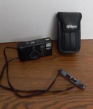 VTG 1986 Nikon TeleTouch 35mm Film Camera & Soft Leatherette Case