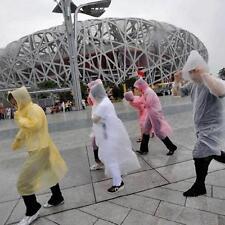 Disposable New Women Men Unisex Rain Coat Transparent Raincoat Windproof Jacket