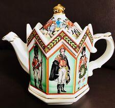 "Collector's Registered Design James Sadler ""The Battle of Waterloo"" Teapot"