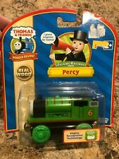 Thomas the Train Wooden Talking Percy 98704 Learning Curve NRFB