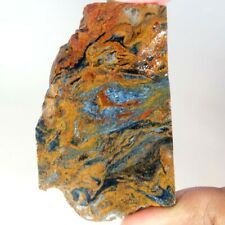 Beautiful 126.00Cts Natural Red Pietersite Rough Slab Cab. Size Loose Gemstones
