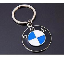 3D Chrom BMW Logo Badge Car Zinc Alloy Metal Key Chains Keyring Birthday Gift