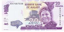 Malawi twenty kwacha 2016