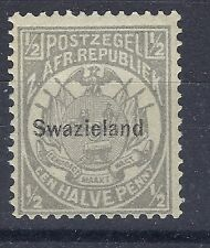 SWAZILAND 1889 1/2 d GREY MINT HINGED STAMP SEE SCANS NICE STAMP.
