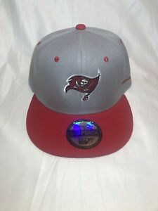 Tampa Bay Buccaneers Adjustable Snapback Hat Gray/Red