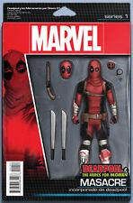 Deadpool Mercs For Money V2 1 Action Figure Variant Masacre movie 1st print