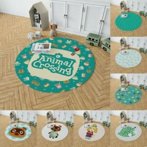 Game Animal Crossing: New Horizons Round Velboa Floor Rug Carpet Room Floor Mat