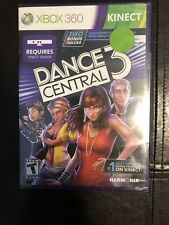 Dance Central 3 Game Xbox 360 KINECT Brand NEW Factory Sealed
