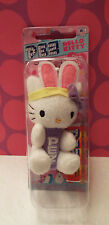 2015 HELLO KITTY Purple Easter BUNNY Plush PEZ Candy Dispenser Clip On Mint TOY