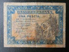BC - SERIE E - BILLETE DE 1 PESETA DE 1940 - HERNAN CORTES