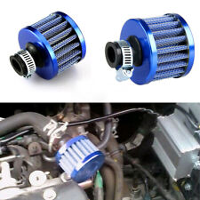 1* Car Motor Cold Air Intake Filter Turbo Vent Oil Catch Crankcase Breather 12mm