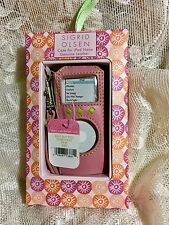 Sigrid Olsen Pink Leather iPod Nano Protective Case 2GB 4GB 8GB New with Tags