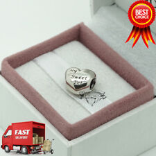 ORIGINALE Pandora, Mio Dolce Pet Paw Print, Cuore, Amore, bracciale Charm 791262