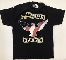 Worn Men's WWE Wrestlemania 22 American by Birth Size Large Angry by Choice
