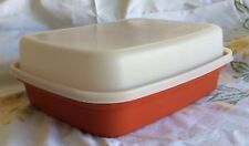 Tupperware 1294 Paprika Season Meat Marinade Container Large Free Shipping