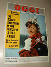 OGGI=1963/6=CLAUDIA CARDINALE=NICOLA CARRARO=HENRI LANDRU=FERNAND GIGON=DOLFIN=