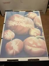 25 Sheets Computer Stationary   Halloween Pumpkins  8-1/2 x 11