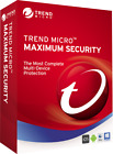 Trend Micro Maximum Security 2021 1 Year 3 Devices
