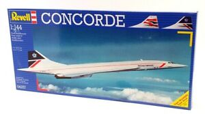 Revell 1/144 Scale Model Aircraft Kit 04257 - Concorde British Airways