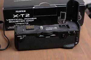 Fuji Fujifilm VPB-XT2 Vertical Power Booster Grip for X-T2 w/Adapter & Batteries