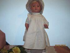 """Alte Schildkröt Puppe  """"Christel""""  49 cm Zelluloid, Kurbelkopf"""