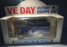 Lledo Ford A Van VE Day Daily Telegraph Mint And Boxed Limited #