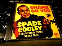 Shame on You: The Western Swing Dance Gang by Spade Cooley CD NEW Tex Williams