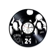 Basketball Stars Wall Clock Birthday Gift Vinyl Record Art Sport Bedroom Decor