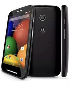 Motorola MOTO E XT1021 4GB Black Smartphone Excellent Condition Boxed Android